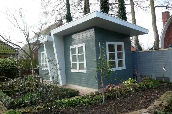 Jaap thoenes architectonisch vormgever - Ontwerp tuinhuis ...